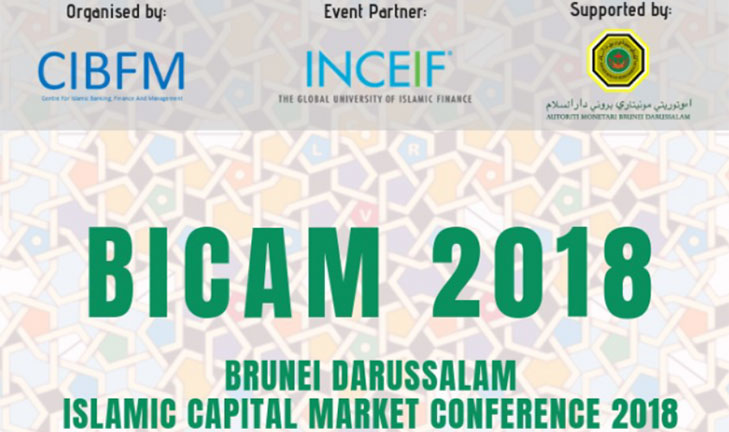 22nd & 23rd October 2018. Islamic Capital Market (BICAM) conference at The Rizqun International Hotel, Gadong.