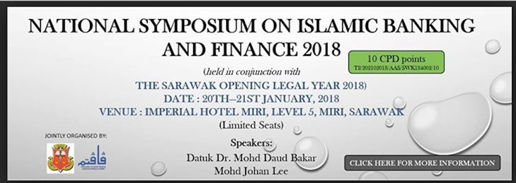 20th January 2018. Islamic Finance Course in Miri, Sarawak.
